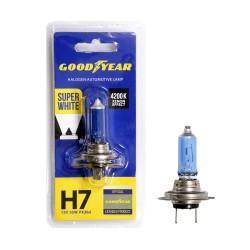Галогенная лампа Goodyear Super White H7 GY017127, блистер