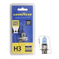 Галогенная лампа Goodyear Super White H3 GY013127, блистер