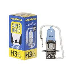 Галогенная лампа Goodyear Super White H3 GY013126, коробка