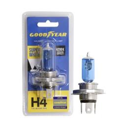 Галогенная лампа Goodyear Super White H4 GY014127, блистер