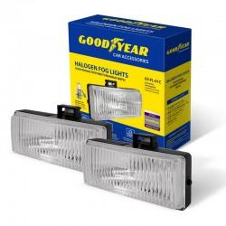 Галогенные универсальные ПТФ Goodyear с лампами Н3 (прямоугольные)